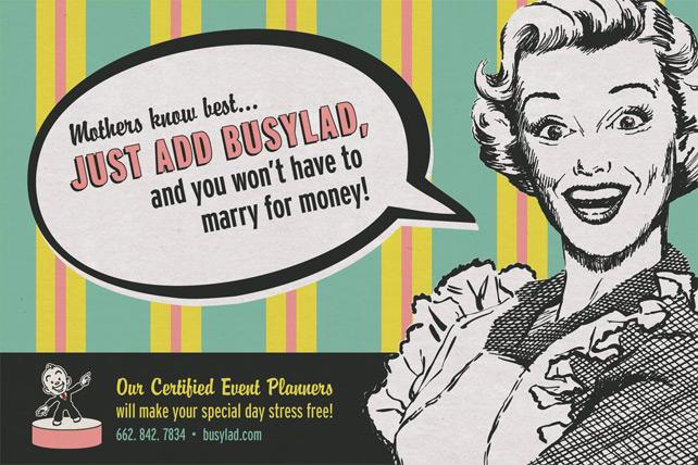 Busylad Postcard Mailer